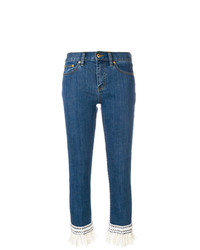 Tory Burch Cropped Connor Jeans