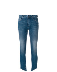 Acynetic Cropped Faded Jeans