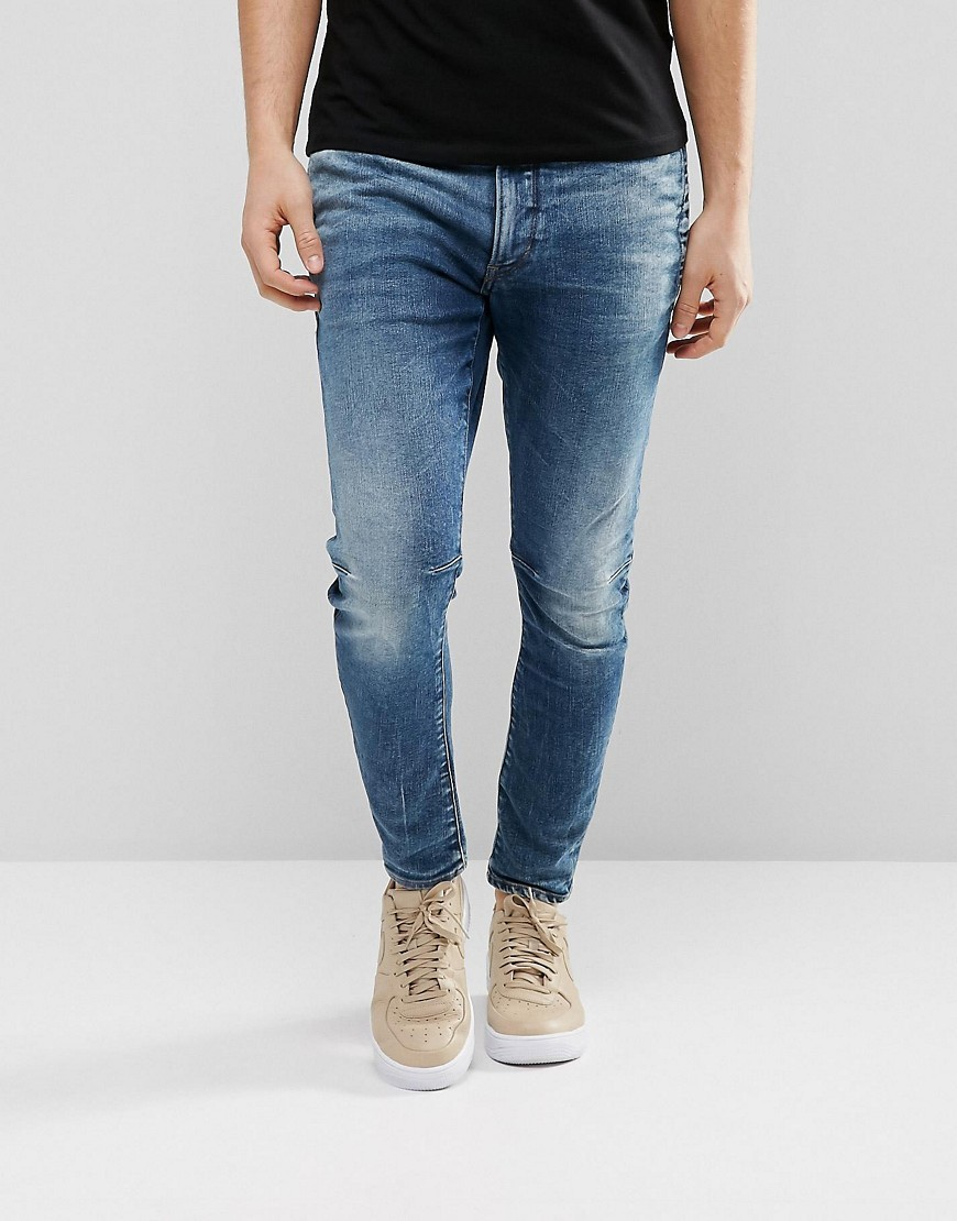 36db7bffae6d G Star D Staq 3d Super Slim Jeans Medium Aged | Where to buy & how ...
