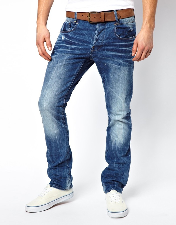 Jeans New Radar Slim Fit Light Aged