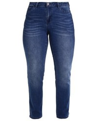 Junarose Jrkimbra Straight Leg Jeans Dark Blue Denim