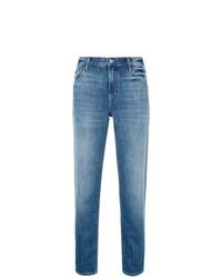 J Brand Mid Rise Boy Fit Jeans