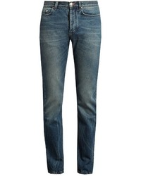 Paul Smith Mid Rise Slim Leg Jeans