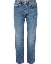 Totême Mid Rise Straight Leg Jeans