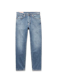 Acne Studios River Slim Fit Tapered Stretch Denim Jeans
