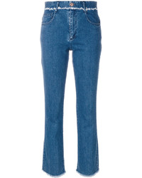 See by Chloe See By Chlo Frayed Trim Jeans