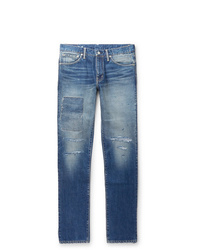 VISVIM Social Sculpture 04 Slim Fit Distressed Denim Jeans