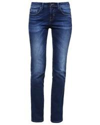 Benetton Straight Leg Jeans Mid Blue