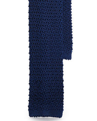 Ralph Lauren Black Label Solid Knit Silk Tie
