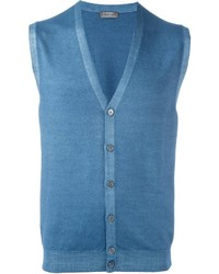 Button down knitted waistcoat medium 795308