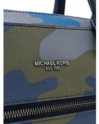 MICHAEL Michael Kors Michl Michl Kors Harrison Camouflage Print Briefcase