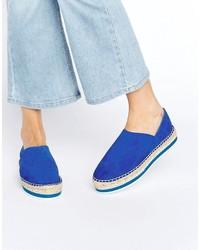 Miista Matilda Leather Espadrille Flats