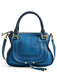 Chloe medium marcie leather satchel medium 215445