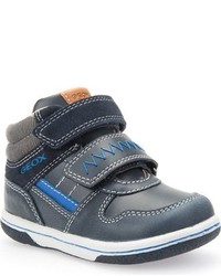 Geox Toddler Boys Flick High Top Sneaker