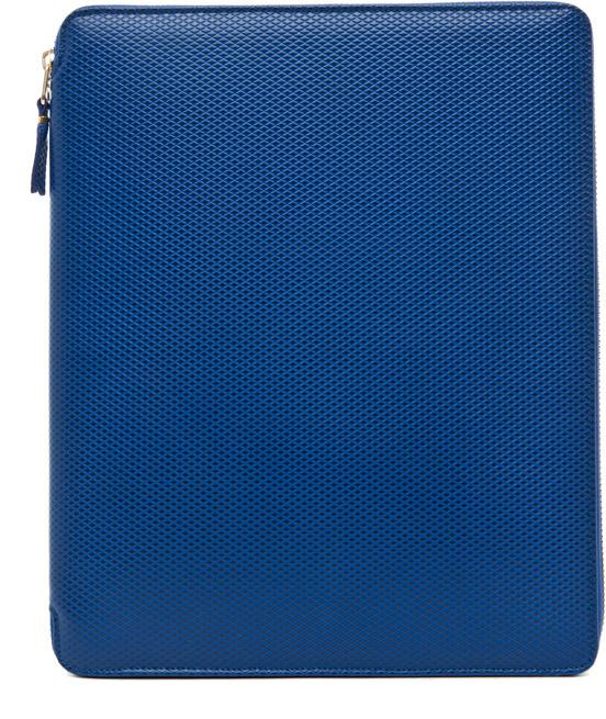 Blue Leather iPad Case Comme Des Gar?ons OSyLbrIvU