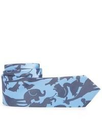 Nordstrom Animal Camo Silk Tie