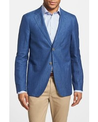 Blue Linen Blazer