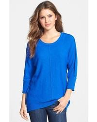 Two by reverse seam dolman sleeve sweater medium 118643