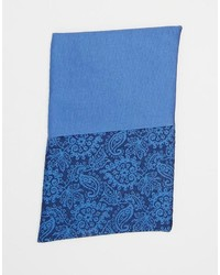 Red Eleven Pocket Square Paisley