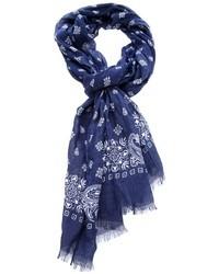 Paisley print scarf medium 26747