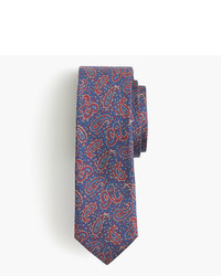 J.Crew English Silk Tie In Paisley