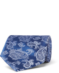 85cm paisley silk jacquard tie medium 1245832