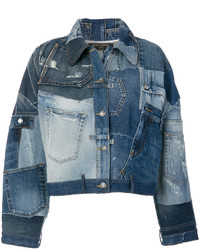 Dolce & Gabbana Patchwork Denim Jacket