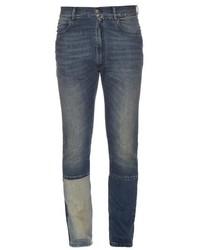 Maison Margiela Patchwork Leg Slim Fit Jeans