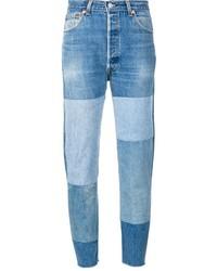 Patchwork straight jeans medium 1317563