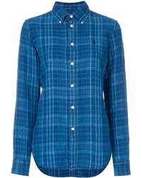 Polo Ralph Lauren Button Down Plaid Shirt