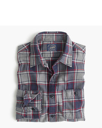26370e389be8 ... J.Crew Midweight Flannel Shirt In Classic Navy Plaid