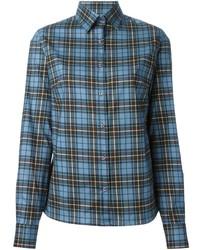 Stella Jean Printed Plaid Shirt