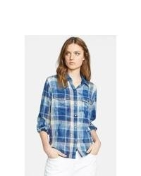 Current/Elliott The Perfect Plaid Shirt