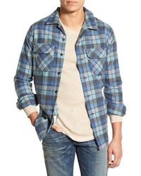 Board regular fit flannel shirt medium 370529