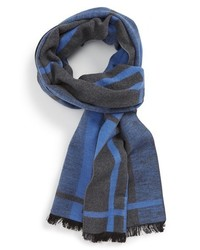 Chelsey plaid brushed silk scarf medium 349872