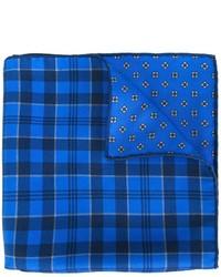 Reversible plaid pocket square medium 758452