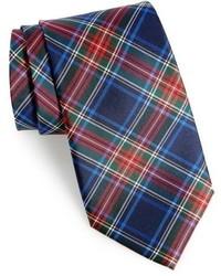 Shop family plaid silk tie medium 963075