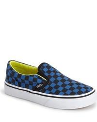 Vans Classic Checkerboard Print Slip On Sneaker