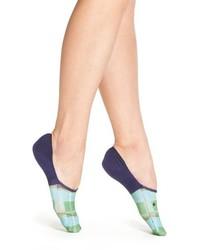 Blue Plaid Socks