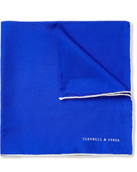 Blue Pocket Square