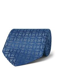 Charvet 9cm Dotted Silk Jacquard Tie