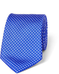 Turnbull & Asser Polka Dot Silk Tie