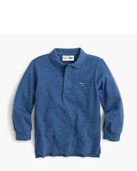 J.Crew Kids Lacoste For Long Sleeve Polo Shirt