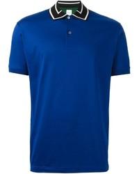 Paul Smith Contrasting Collar Polo Shirt