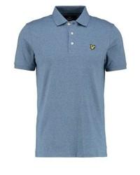Lyle & Scott Polo Shirt Blue Steel
