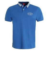 s.Oliver Polo Shirt Postcard Blue