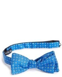 Blue Print Bow-tie