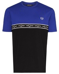 Fred Perry Logo Colour Block T Shirt