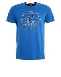 Print t shirt postcard blue medium 4184840