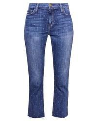 The cropped straight straight leg jeans blue denim medium 4240280